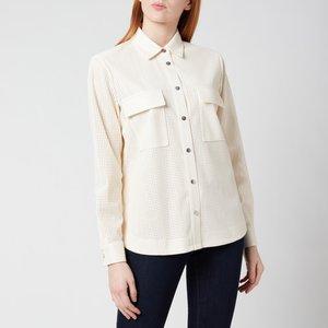 Boss Women's Bafy Shirt - Open White - Uk 8 50450605 118 General Clothing, White