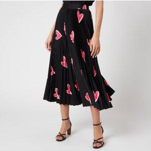 Boss Women's Valeforo1 Midi Skirt - Open Miscellaneous - Uk 8 50451240 960 Womens Dresses & Skirts, Multi