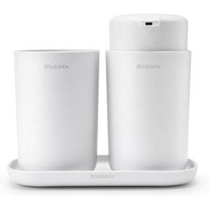 Brabantia Bathroom Accessories - White (set Of 3) 280382 General Household, White