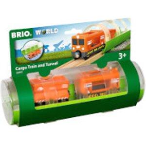 Brio Tunnel & Cargo Train 33891 Toys