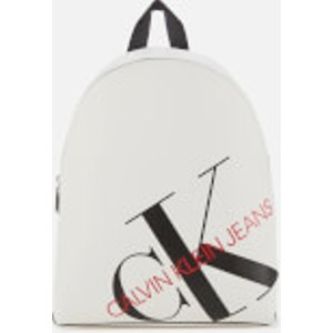Calvin Klein Jeans Women's Logo Backpack - Bright White K60k606855yaf Womens Accessories, White