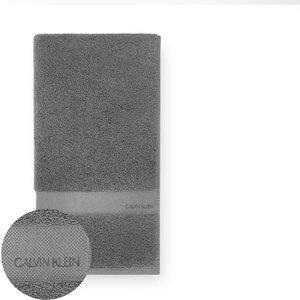 Calvin Klein Tracy Bath Towel - Charcoal 2710195 Bt C1 P3 Bathrooms, Grey