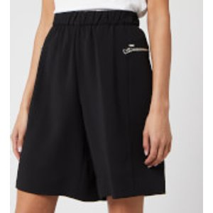 Calvin Klein Women's Travel Crepe Shorts - Black - Uk 6/eu 36 K20k201771bds Womens Clothing, Black