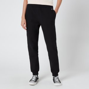 Champion Women's Rib Cuff Pants - Black - M 113358 Kk001 Mens Trousers, Black