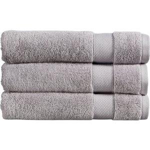 Christy Refresh Bath Towel - Set Of 2 - Dove Grey 5057241148058 Bathrooms, Grey