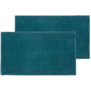 Christy Supreme Hygro Bath Mat - Set Of 2 - Kingfisher 120001565211012830 Bathrooms, Blue