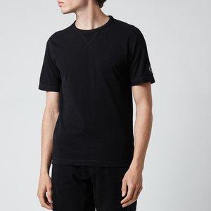 Calvin Klein Jeans Men's Organic Cotton Badge T-shirt - Black - Xxl J30j314051bae General Clothing, Black
