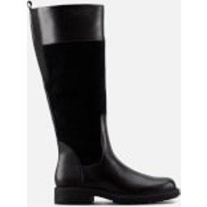 Clarks Women's Orinoco 2 Hi Leather/warm Lined Knee High Boots - Black - Uk 7 26151670 Womens Footwear, Black