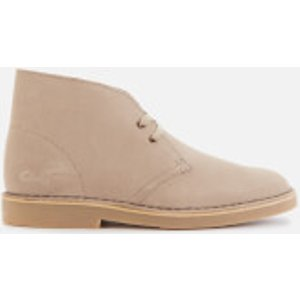 Clarks Women's Suede 2 Desert Boots - Sand - Uk 8 26155660 Womens Footwear, Beige
