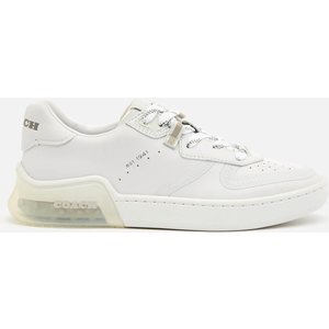 Coach Women's Citysole Suede/leather Court Trainers - Optic White - Uk 7 G5509 Wht Womens Footwear, White
