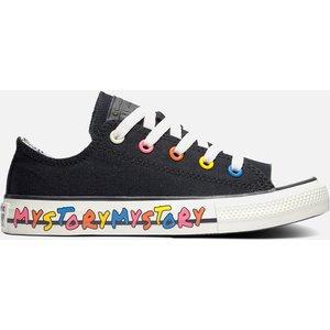 Converse Kids' Chuck Taylor All Star My Story Hi - Top Trainers - Black - Uk 10 Kids 370400c Childrens Footwear, Black