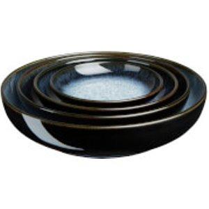 Denby Halo 4 Piece Nesting Bowl Set 199041650 Kitchen, Blue