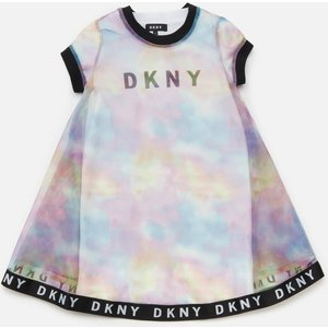 Dkny Girls' 2-in-1 T-shirt Dress - Unique - 16 Years D32785 Girls Clothes, Multi
