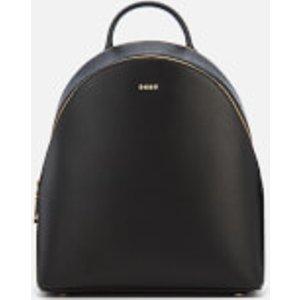Dkny Women's Bryant Sutton Medium Backpack - Black/gold R74k3010 Bgd Womens Accessories, Black