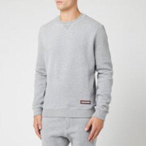 Dsquared2 Men's Crewneck Sweatshirt - Grey - Xl D9mg02660 Mens Tops, Grey