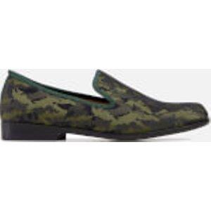 Duke + Dexter Men's Duke Jade Camo Loafers - Camo Green - Uk 8 Djadecamo Mens Footwear, Green