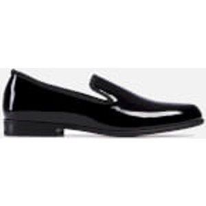 Duke + Dexter Men's Duke Patent Loafers - Black - Uk 7 Patbla Mens Footwear, Black