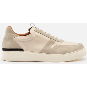 Duke + Dexter Men's Ritchie Sahara Suede/canvas Cupsole Trainers - Beige - Uk 9 Ritchies Mens Footwear, Beige