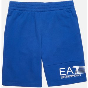 Ea7 Boys' Train 7 Lines Bermuda Shorts - Mazarine - 6 Years 3kbs53bj05z1570 Childrens Clothing, Blue