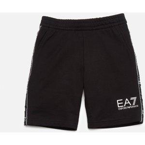 Ea7 Boys' Train Logo Bermuda Shorts - Black - 6 Years 3kbs54bj05z1200 Childrens Clothing, Black