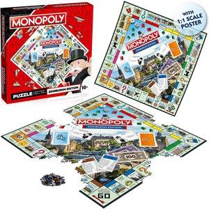 Edinburgh Monopoly Jigsaw Wm01072 En1 6 Games, Puzzles & Learning