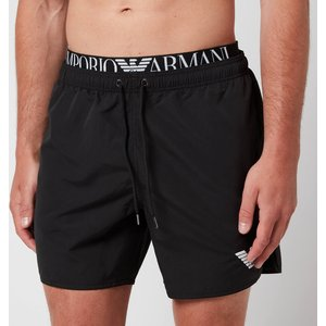 Emporio Armani Men's Logoband Swim Shorts - Black - L 211740 1p432 00020 Mens Underwear, Black