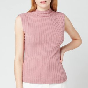 Free People Women's Babetown Baby Top - Smoked Roses - L Ob1245628 6607 Mens Tops, Pink