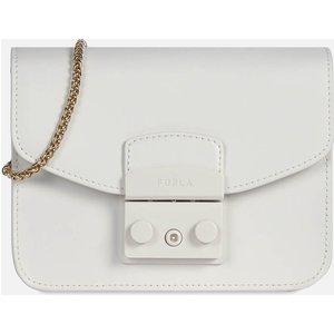 Furla Women's Metropolis Mini Cross Body Bag - Talco Batlep0 Vnc000 01b00 Womens Accessories, White