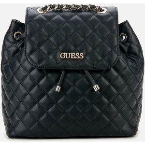 Guess Women's Illy Backpack - Black Hwvg79 70320 Bla Womens Accessories, Black