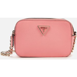 Guess Women's Noelle Cross Body Camera Bag - Pink Hwzg78 79140 Pin Womens Accessories, Pink