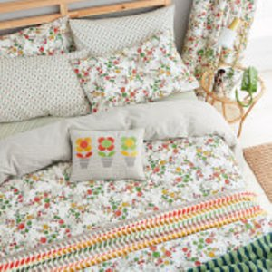 Helena Springfield April Duvet Cover Set - Green - Double Qcsaprg2spg Home Textiles