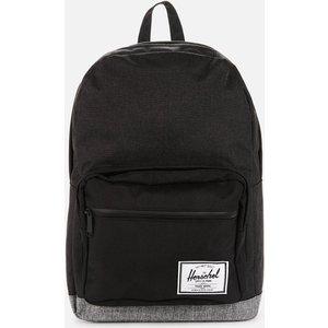 Herschel Supply Co. Men's Pop Quiz Backpack - Black Crosshatch/black Raven Crosshatch 10011 04890 Os Mens Accessories, Black