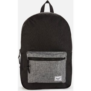 Herschel Supply Co. Men's Settlement Backpack - Black Crosshatch/black Raven Crosshatch 10005 04890 Os Mens Accessories, Black