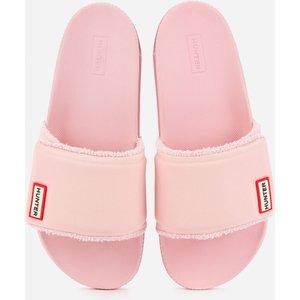 Hunter Women's Original Adjustable Slide Sandals - Foxglove - Uk 5 Wfd1033neo Fxg Womens Footwear, Pink