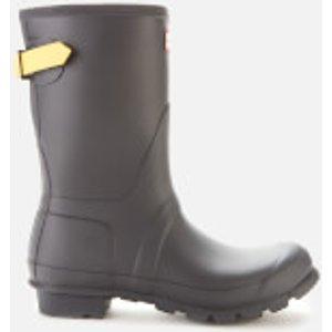 Hunter Women's Original Back Adjustable Short Boots - Luna/lightning Yellow - Uk 4 Wfs1013rma Lul Womens Footwear, Yellow