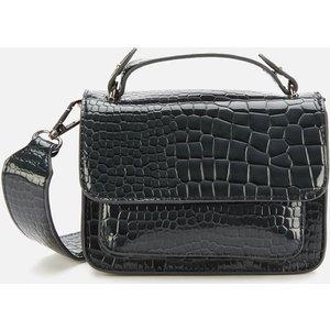 Hvisk Women's Renei Croco Cross Body Bag - Grey Dark H1772 Womens Accessories, Grey
