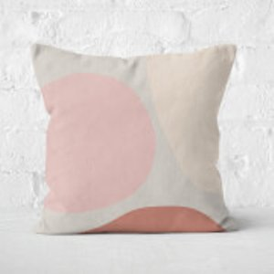 In Homeware X Polly Sayer Shapes Square Cushion - 60x60cm - Soft Touch Cu 41443 60x60 St Home Accessories
