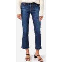 J Brand Women's Selena Mid Rise Crop Bootcut Jeans - Arcade - W25 8314t178 J44416 Womens Clothing, Blue