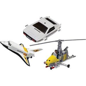 James Bond Collection (space Shuttle, Little Nellie, Lotus Esprit) Model Set Ty99283 Toys