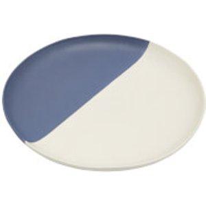 Joules Stoneware Dinner Plate - French Navy Z Ggdinplat Kitchen, Blue