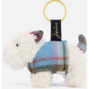 Joules Women's Tweedle Keyring - Westie Do Not Use Clothing Accessories, White