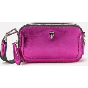 Karl Lagerfeld Women's K/ikonik 3d Pin Camera Bag - Metallic Pink 210w3077573 Womens Accessories, Pink