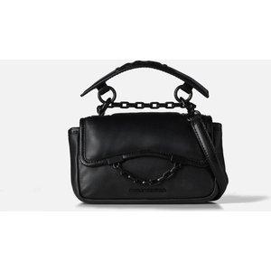 Karl Lagerfeld Women's K/karl Seven Soft Mini Shoulder Bag - Black 215w3061 Womens Accessories, Black