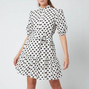 Kate Spade New York Women's Block Floral Shirt Dress - Cream - S Njm00268 142 General Clothing, Cream
