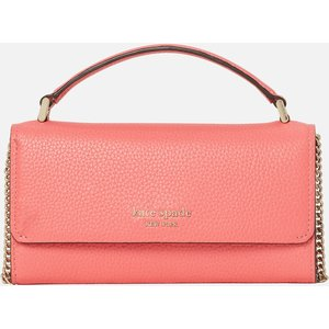 Kate Spade New York Women's Roulette Top Handle Cross Body Bag - Peach Melba Pwr00383 761 Womens Accessories, Pink
