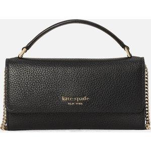 Kate Spade New York Women's Roulette Top Handle Cross Body Bag - Black Pwr00383 001 Womens Accessories, Black