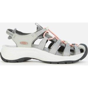 Keen Women's Astoria West Sandals - Grey/coral - Uk 5 1023589 Mens Footwear, Grey