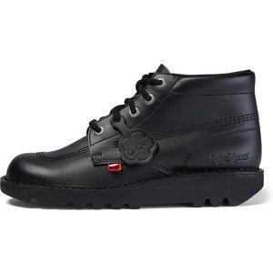 Kickers Men's Kick Hi Leather Boots - Black - 8 1kf0000101btw, Black