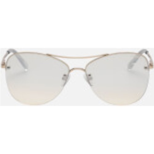 Le Specs Women's Fortifeyed Sunglasses - Gold Lsp1902008 Womens Accessories, Gold