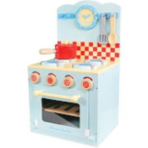 Le Toy Van Honeybake Blue Oven And Hob Set Tv265 Toys, Multi